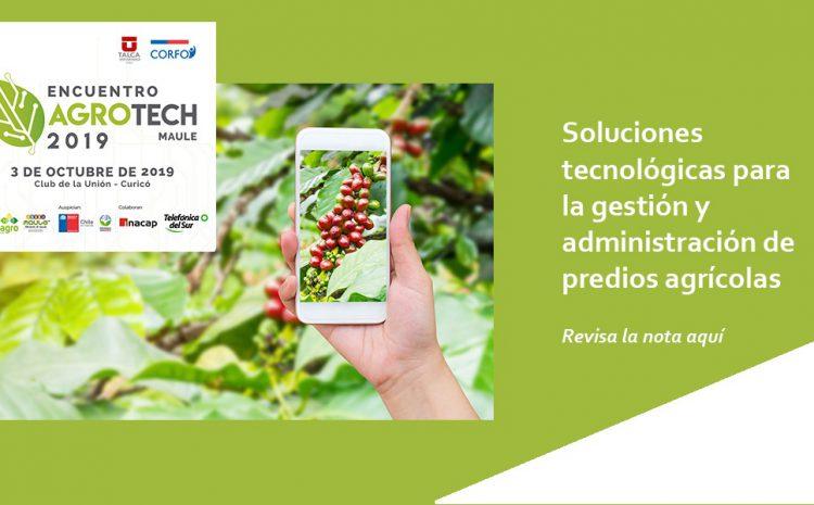 Soluciones tecnológicas para la gestión y administración de predios agrícolas